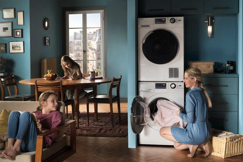 Haier Europe_Shooting Lifetyle_Washer Dryer_Le Studio Graphique des Improductibles